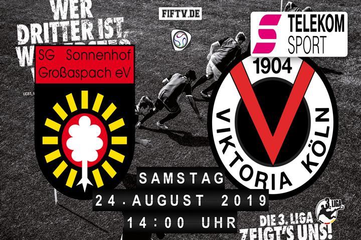 Sonnenhof Großaspach - Viktoria Köln Spielankündigung