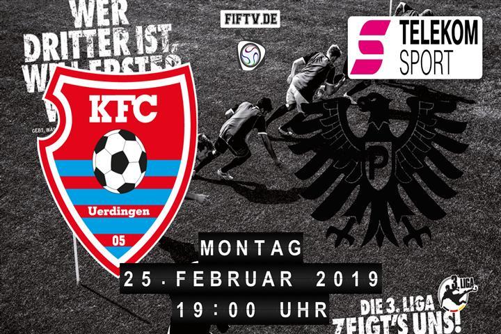 KFC Uerdingen 05 - Preussen Münster Spielankündigung
