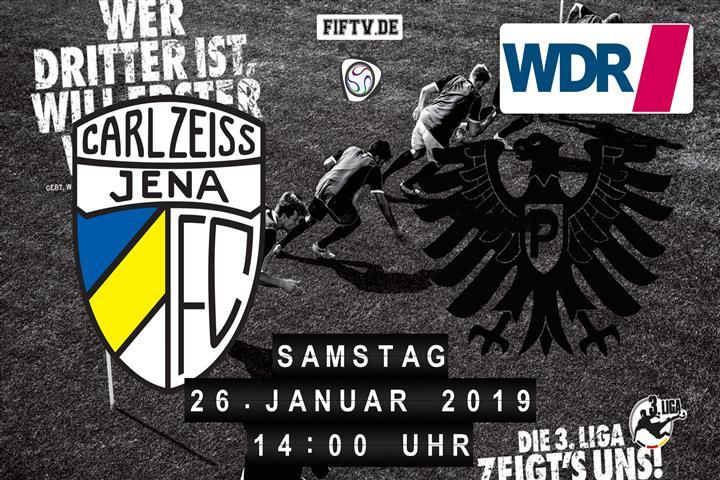 Carl Zeiss Jena - Preussen Münster Spielankündigung