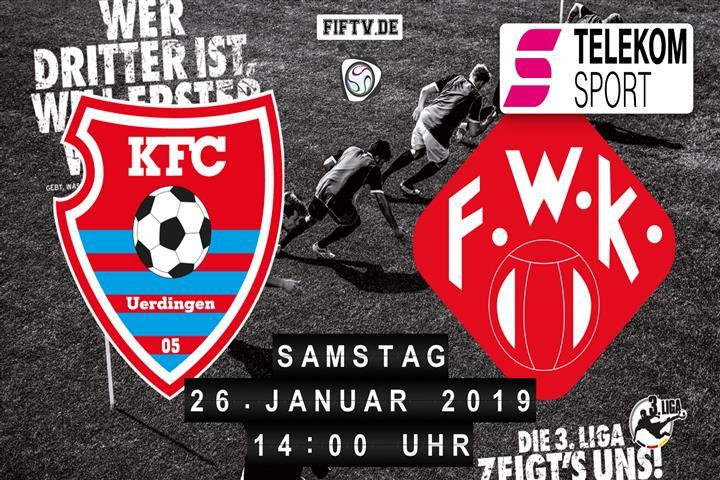KFC Uerdingen 05 - Würzburger Kickers Spielankündigung