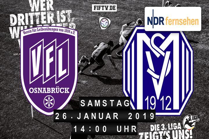 VfL Osnabrück - SV Meppen Spielankündigung