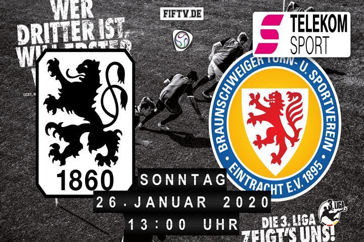 1860 München Eintracht Braunschweig