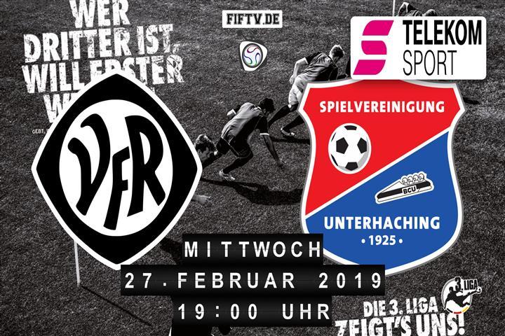 VfR Aalen - SpVgg Unterhaching Spielankündigung