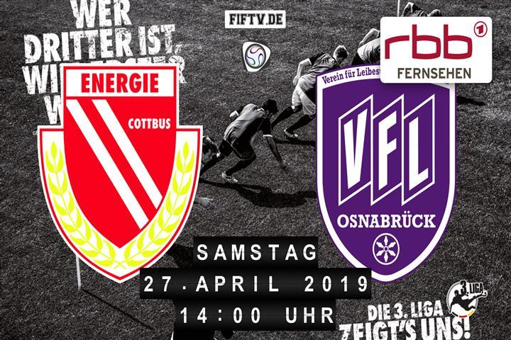 Energie Cottbus - VfL Osnabrück Spielankündigung