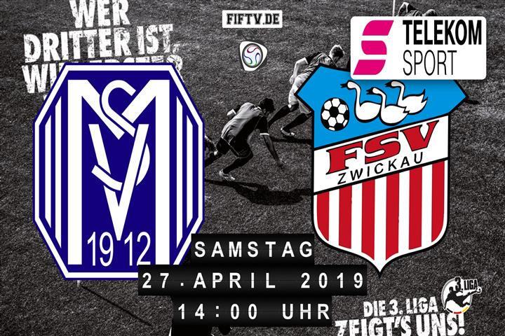 SV Meppen - FSV Zwickau Spielankündigung