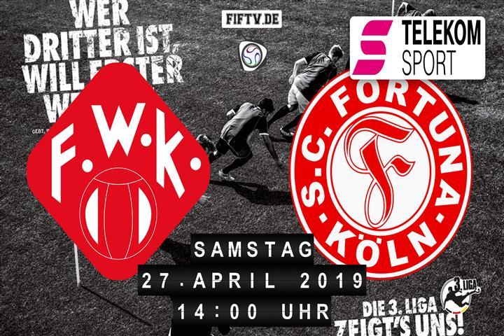 Würzburger Kickers - Fortuna Köln Spielankündigung