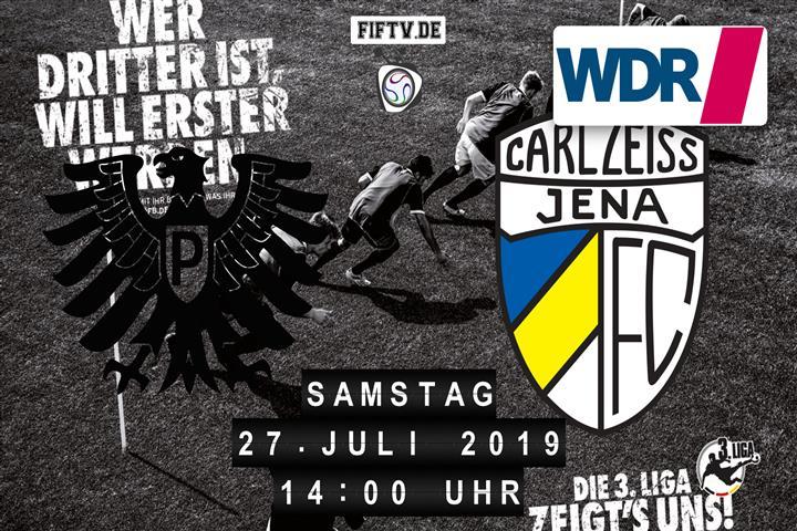 Preussen Münster - Carl Zeiss Jena Spielankündigung