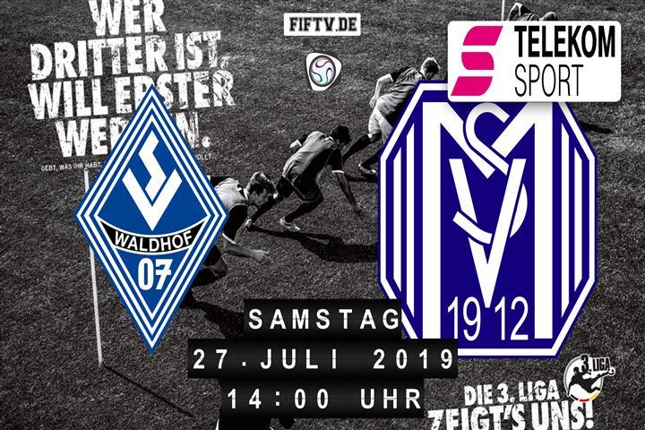 SV Waldhof Mannheim - SV Meppen Spielankündigung