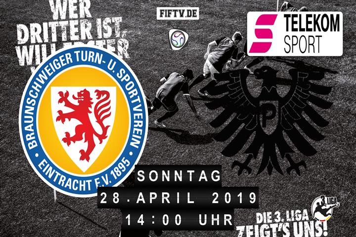 Eintracht Braunschweig - Preussen Münster Spielankündigung