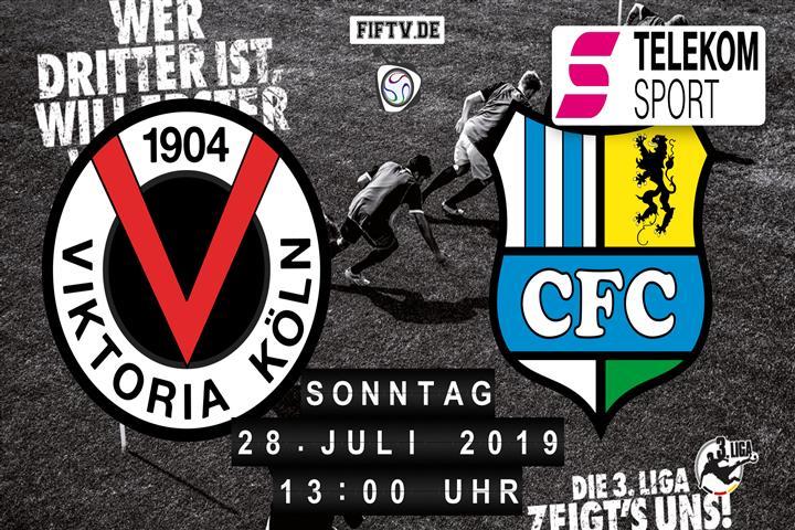 Viktoria Köln - Chemnitzer FC Spielankündigung
