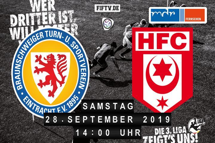 Eintracht Braunschweig - Hallescher FC Spielankündigung