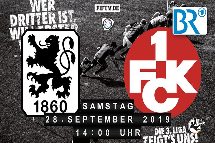 TSV 1860 München - 1.FC Kaiserslautern Spielankündigung