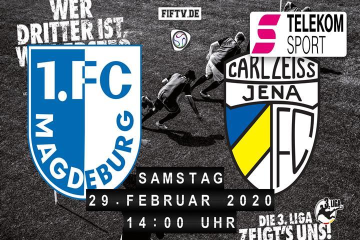 Magdeburg Jena Live