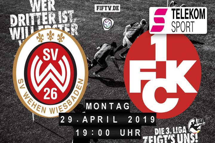 SV Wehen Wiesbaden - 1.FC Kaiserslautern Spielankündigung