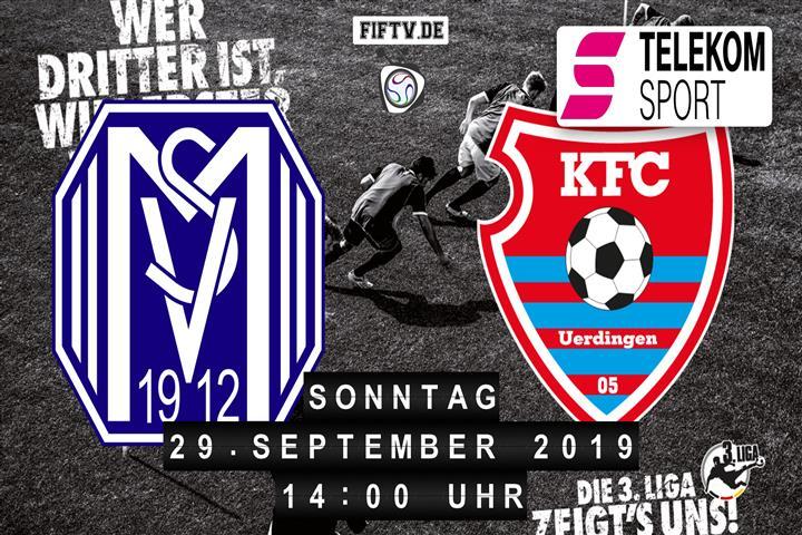 SV Meppen - KFC Uerdingen 05 Spielankündigung