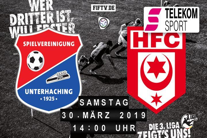 SpVgg Unterhaching - Hallescher FC Spielankündigung