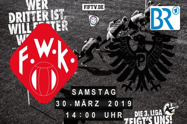 Würzburger Kickers - Preussen Münster Spielankündigung