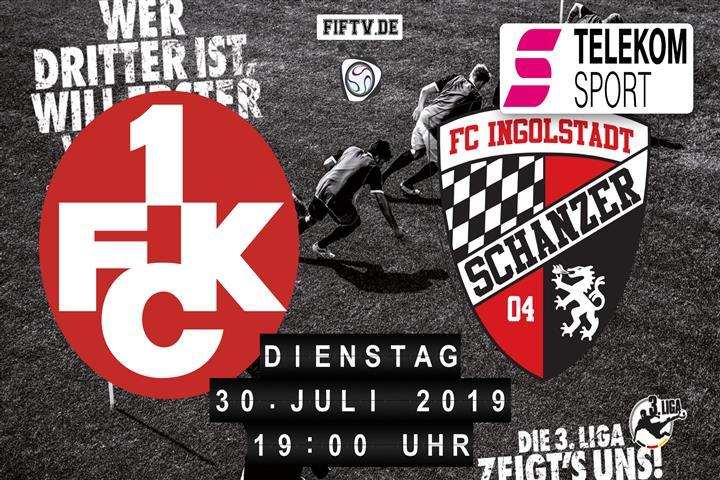 1.FC Kaiserslautern - FC Ingolstadt Spielankündigung