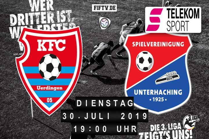 KFC Uerdingen 05 - SpVgg Unterhaching Spielankündigung