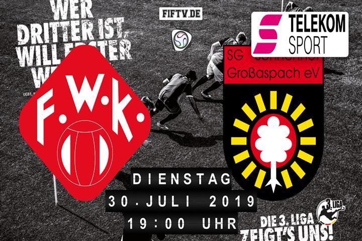 Würzburger Kickers - Sonnenhof Großaspach Spielankündigung