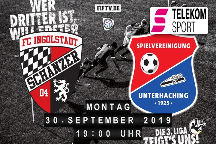 FC Ingolstadt - SpVgg Unterhaching Spielankündigung