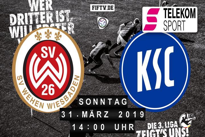 SV Wehen Wiesbaden - Karlsruher SC Spielankündigung
