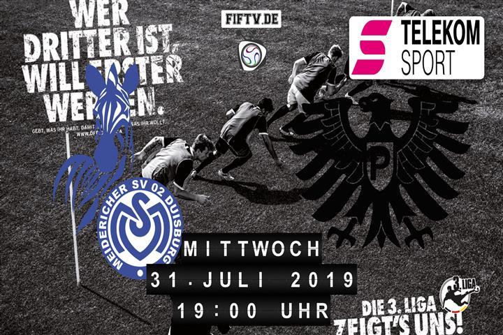 MSV Duisburg - Preussen Münster Spielankündigung