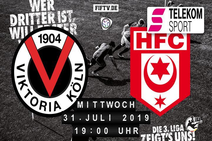 Viktoria Köln - Hallescher FC Spielankündigung