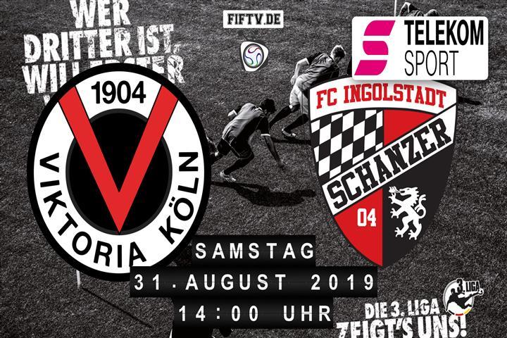 Viktoria Köln - FC Ingolstadt Spielankündigung