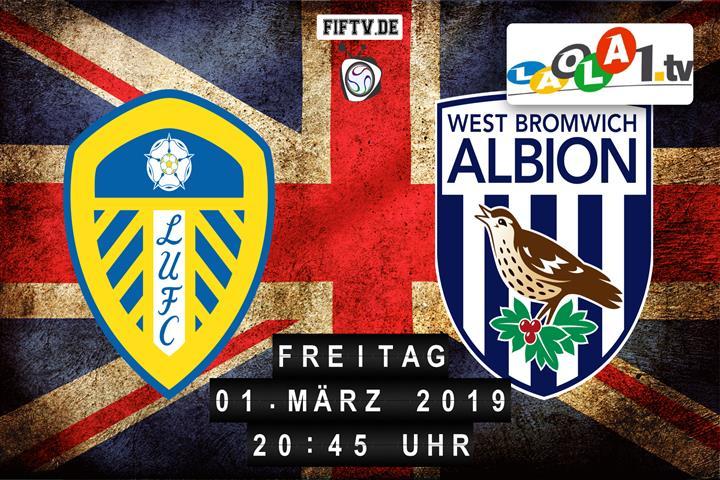 Leeds United - West Bromwich Albion Spielankündigung