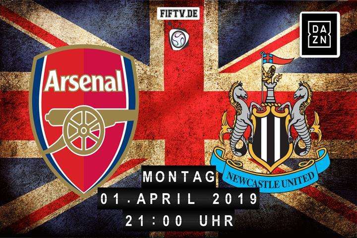 Arsenal London - Newcastle United Spielankündigung