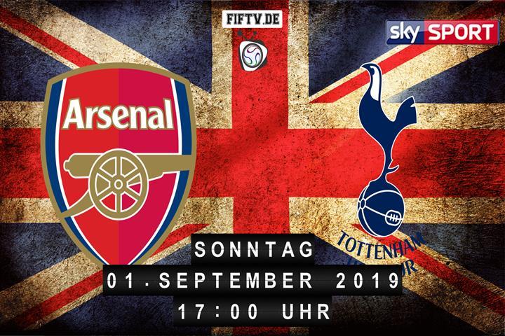 FC Arsenal - Tottenham Hotspur Spielankündigung