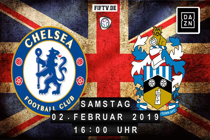 Chelsea London - Huddersfield Town Spielankündigung