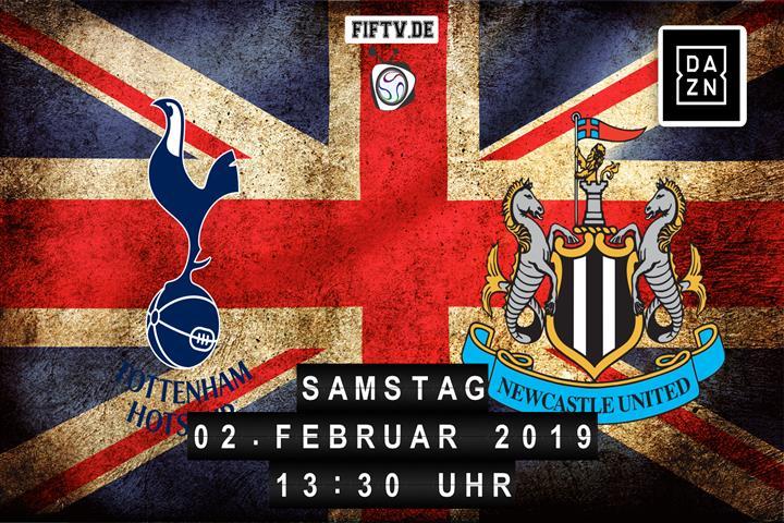 Tottenham Hotspur - Newcastle United Spielankündigung