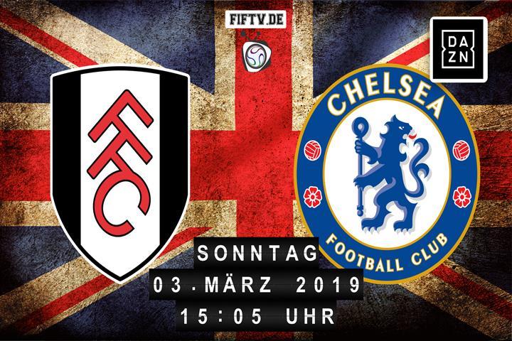 FC Fulham - Chelsea London Spielankündigung