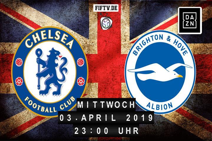 Chelsea London - Brighton & Hove Albion Spielankündigung