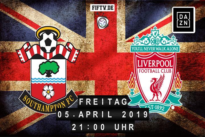 Southampton FC - FC Liverpool Spielankündigung