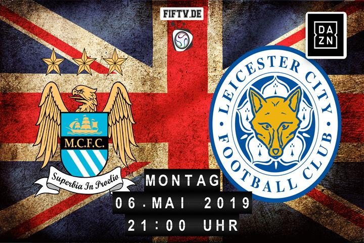 Manchester City - Leicester City Spielankündigung