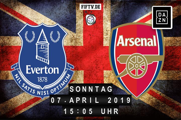 Everton FC - Arsenal London Spielankündigung