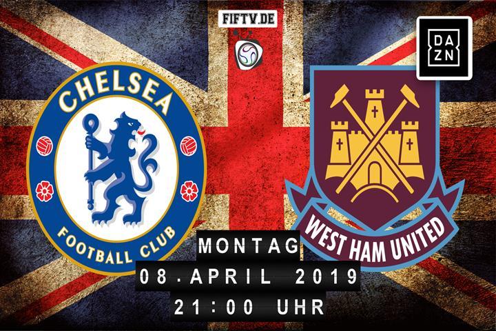 Chelsea London - West Ham United Spielankündigung