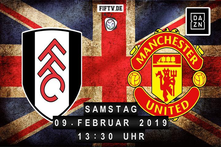 FC Fulham - Manchester United Spielankündigung