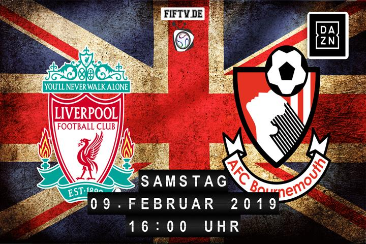 FC Liverpool - AFC Bournemouth Spielankündigung