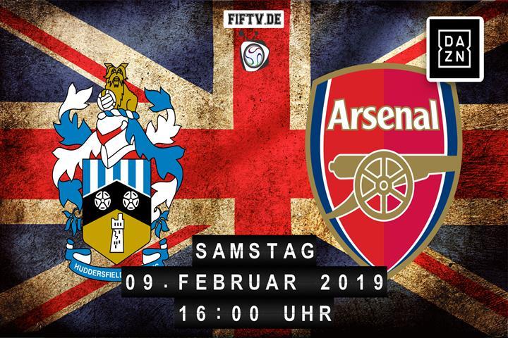 Huddersfield Town - Arsenal London Spielankündigung