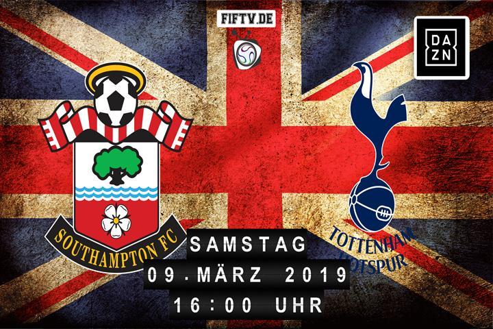 Southampton FC - Tottenham Hotspur Spielankündigung