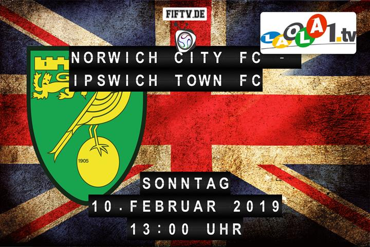 Norwich City FC - Ipswich Town FC Spielankündigung