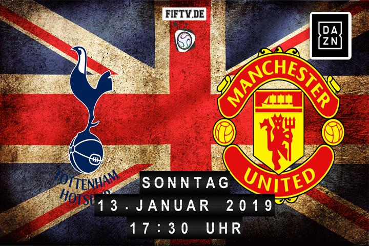 Tottenham Hotspur - Manchester United Spielankündigung