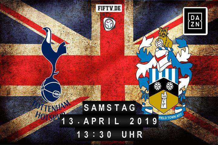 Tottenham Hotspur - Huddersfield Town Spielankündigung