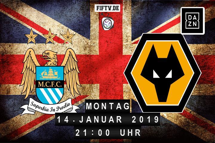 Man City - Wolves Spielankündigung