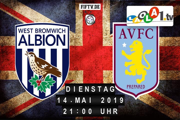 West Bromwich Albion FC - Aston Villa FC Spielankündigung