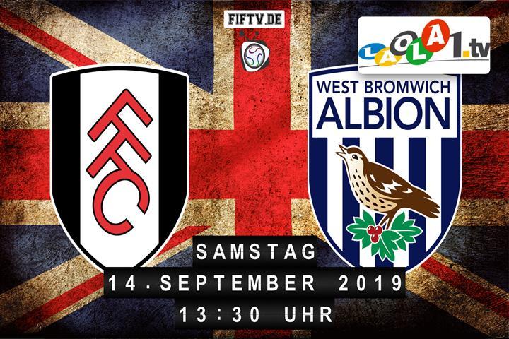 Fulham FC - West Bromwich Albion FC Spielankündigung